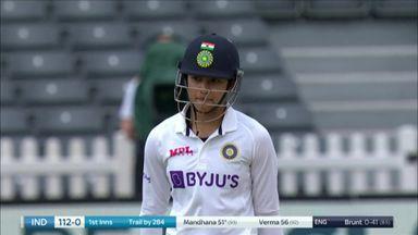 Mandhana brings up her half-century