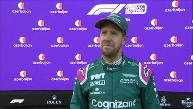 Top three: Perez, Vettel, Gasly