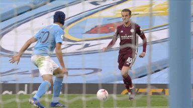 Maddison's stunner vs Man City
