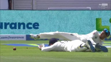 Frustration for England as Blundell dropped