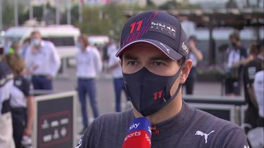 Exhausting race for Perez