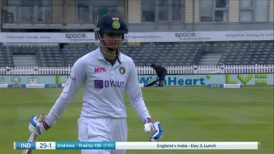 Mandhana goes just before lunch