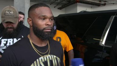 Woodley: I'll knock Jake Paul out