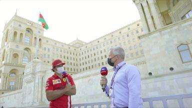 Sainz: Ferrari going in the right direction