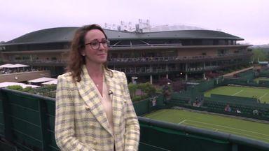 Wimbledon 'a little bit different this year'