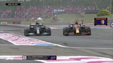 Verstappen passes Hamilton for race win!