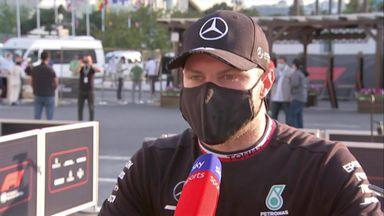 Difficult race for Bottas