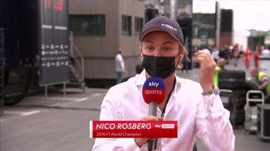Rosberg labels Hamilton's defence 'soft'