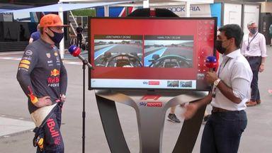 Exclusive: Verstappen examines his pole lap