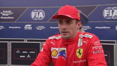 Leclerc: I struggled with balance