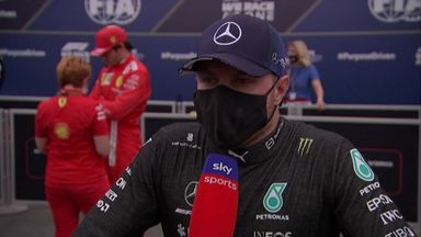 Bottas lets rip about strategy over radio