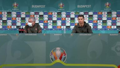 Ronaldo unimpressed with fizzy drink sponsor