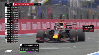 Verstappen's fastest lap analysed