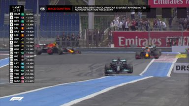 French GP: Opening lap