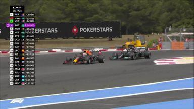 Verstappen completes undertake on Hamilton!