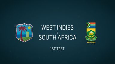 W Indies v S Africa: 1st Test, Day