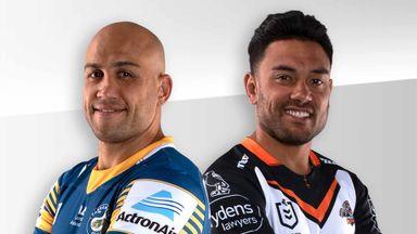 NRL: Eels v Tigers