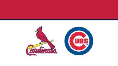 MLB: Cardinals @ Cubs