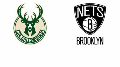 NBA Playoffs: Milwaukee @ Brooklyn