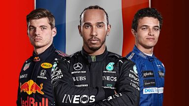 French F1 GP: Practice 1