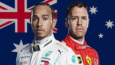 Melbourne F1 Launch Show