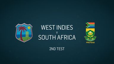 W Indies v S Africa: 2nd Test, Day