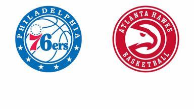 NBA Playoffs:Philadelphia@ Atlanta