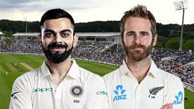 ICC: India v NZ D5 Hlts