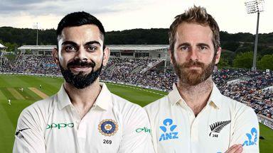 ICC: India v NZ D6 Hlts