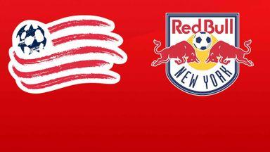 MLS: New England v NY Red Bulls