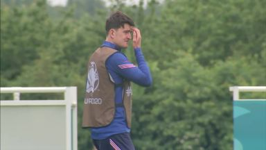 Maguire trains ahead of Scotland game