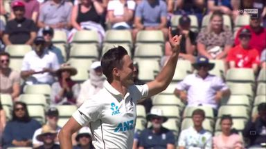 Stone falls to first ball of the day
