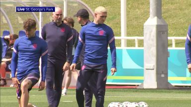 England train ahead of Euro 2020 opener
