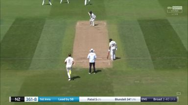 Broad makes instant impact!
