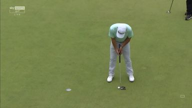 Harman four-putts from five feet!