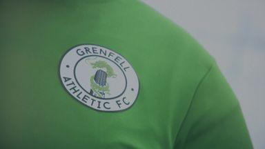 Grenfell fire: How football heals