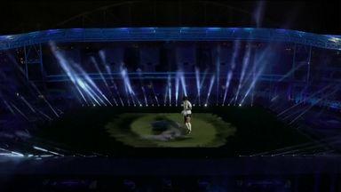 Argentina's amazing Maradona hologram tribute