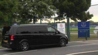 Benitez arrives at Everton