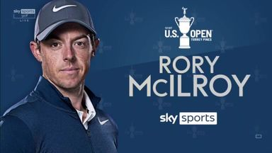 US Open: McIlroy's R3 highlights