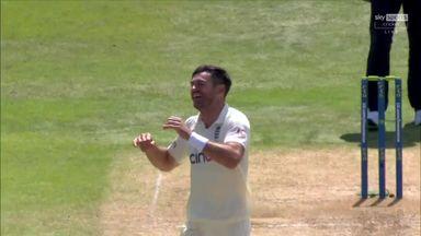 Anderson has his wicket!