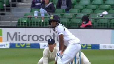 Vastrakar bowled out by Knight
