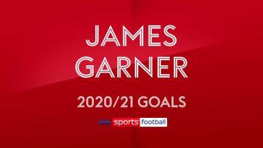 James Garner 2020-21 Goals