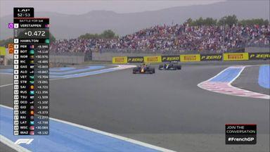 Verstappen takes race lead!
