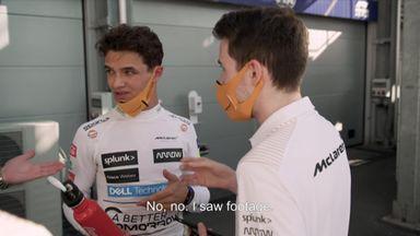 Behind the scenes with McLaren