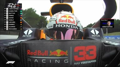 Verstappen claims pole in France