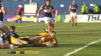 Griffin opens scoring for Castleford