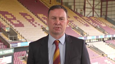 Adams aiming for Bradford promotion