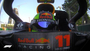 Perez wins the Azerbaijan GP!