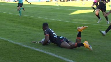 Amazing debut try for Qareqare!