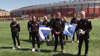 Queen's Park ball kids buzzing for Scotland opener!